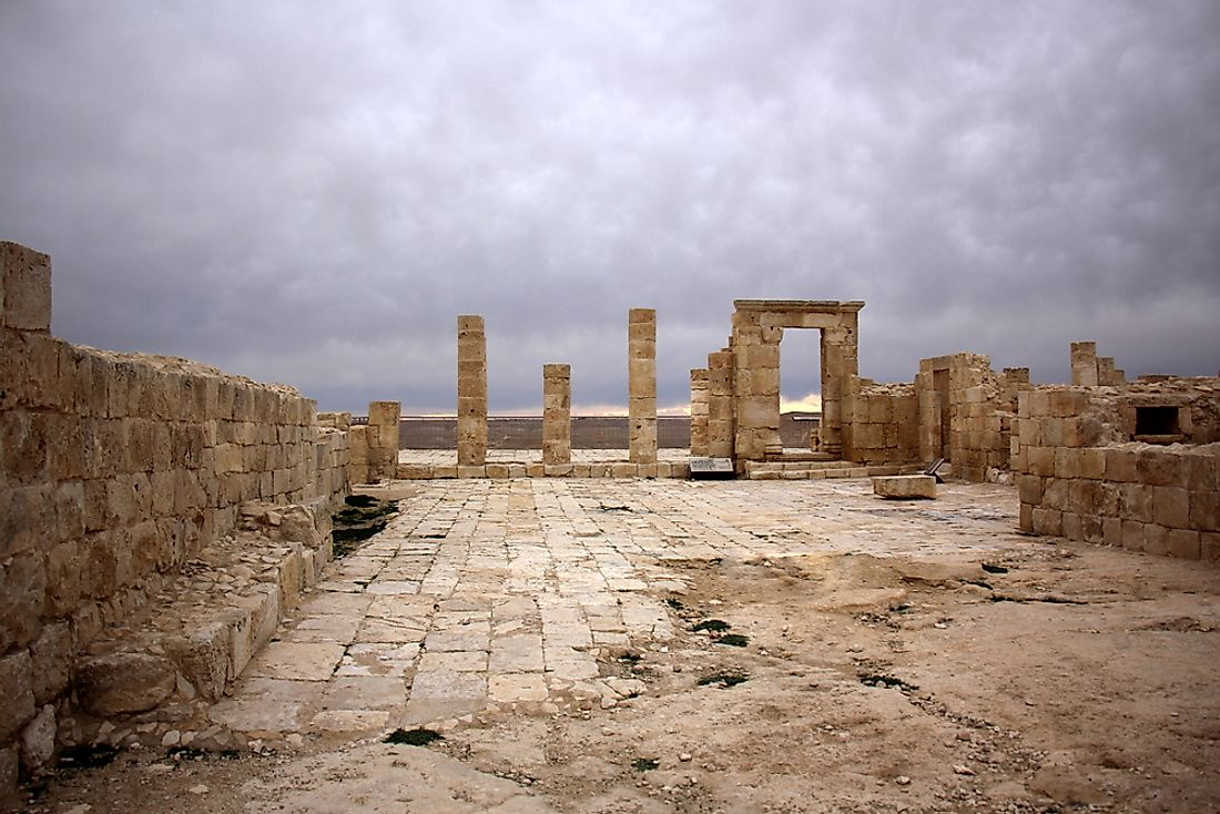 Avdat, the ancient city that played a prominent role on the Incense Trade Route.