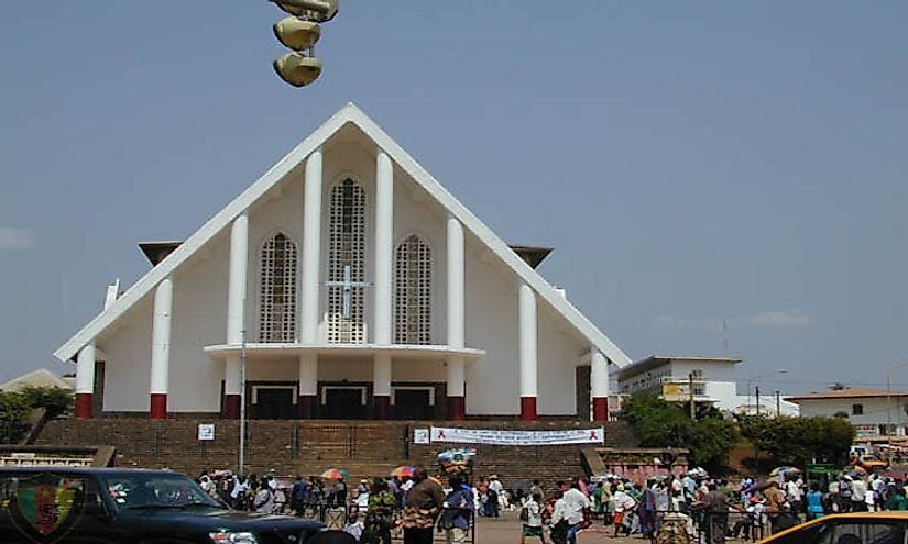 A cathedral in Cameroon.