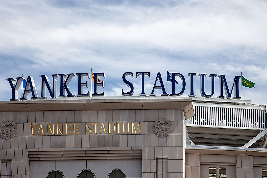 Yankee Stadium, home of the New York Yankees. Editorial credit: Kaesler Media / Shutterstock.com.