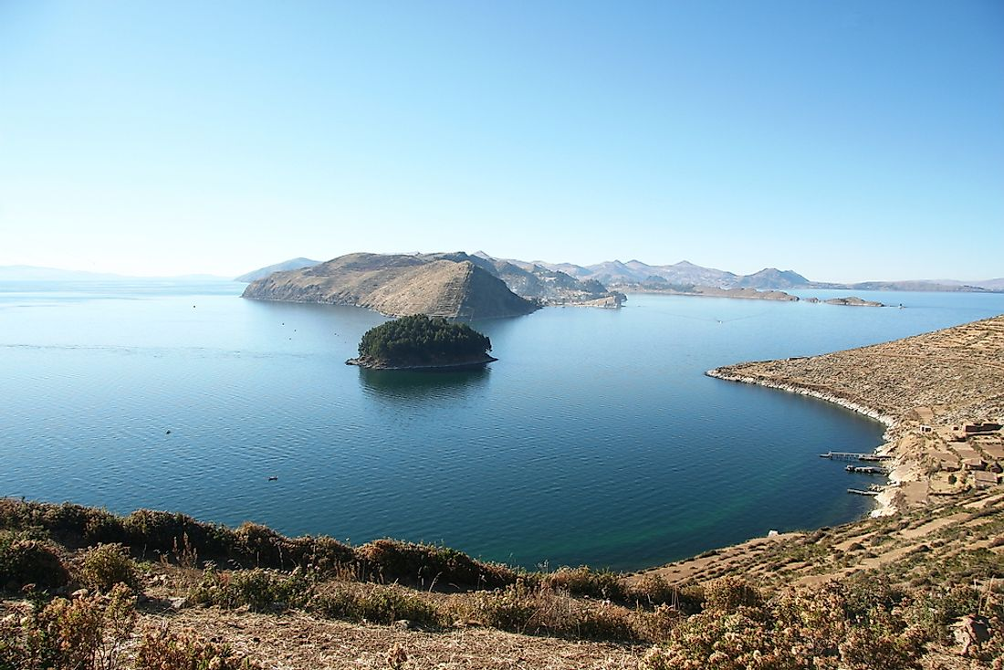 Lake Titicaca sits at an elevation of 12,507 feet above sea level.