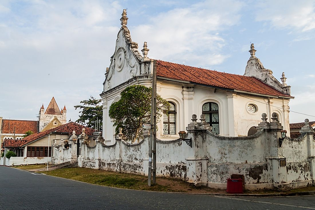 Dutch architecture in Sri Lanka.