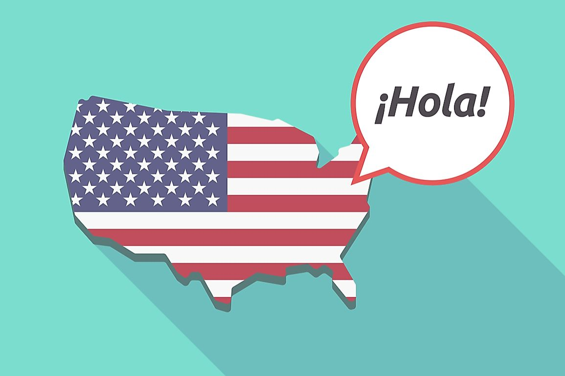 Spanish is the most learned foreign language in the United States.