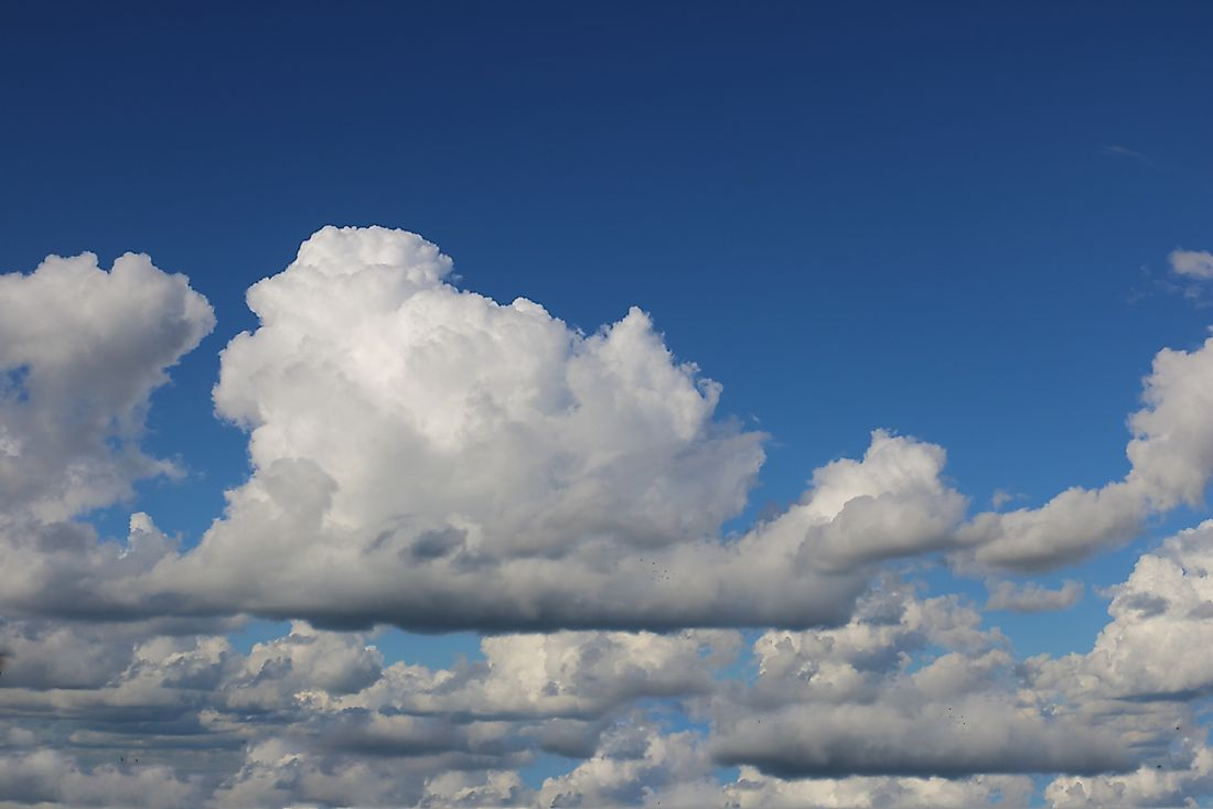 Cumulus clouds are one of the most popular cloud types.