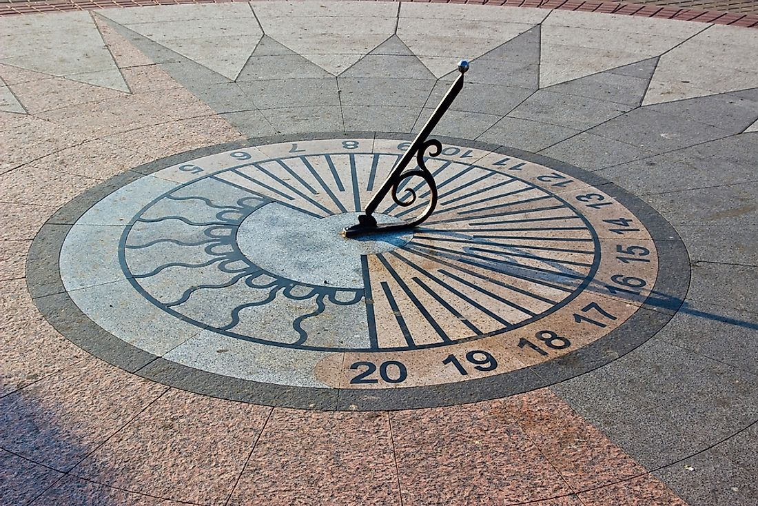 The Egyptians mostly used sundials and waterclocks to keep track of time