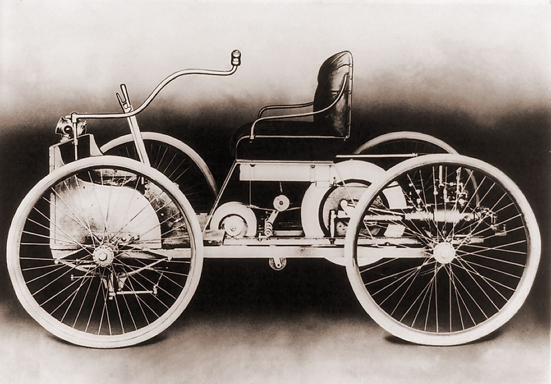 An early car from the Ford Motor Company.