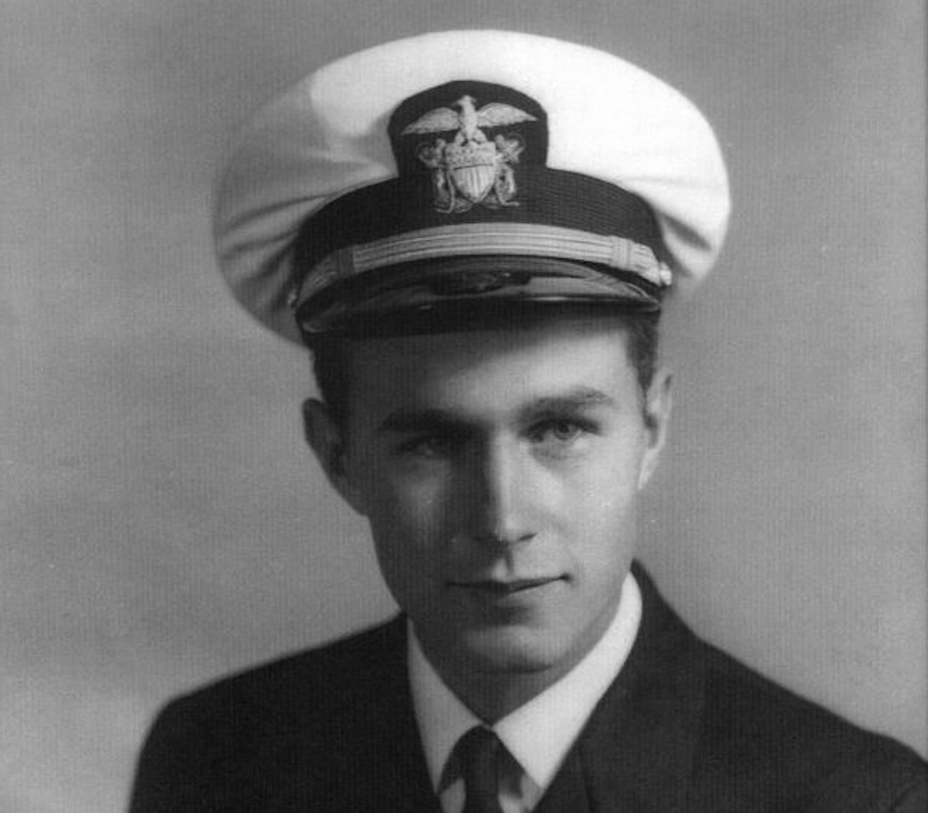 George H. W. Bush, United States Navy Portrait. Image credit: George Bush Presidential Library and Museum / Public domain