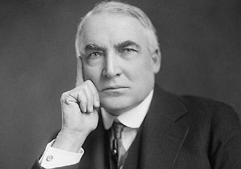 #2 Warren G. Harding