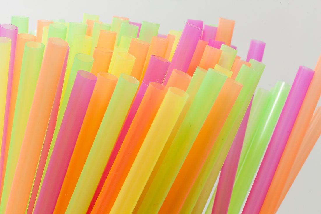 Plastic drinking straws are a common sight in many household or office environments.