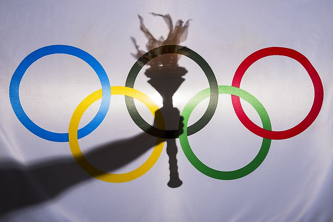 The modern Olympic games date back to 1896. Editorial credit: lazyllama / Shutterstock.com