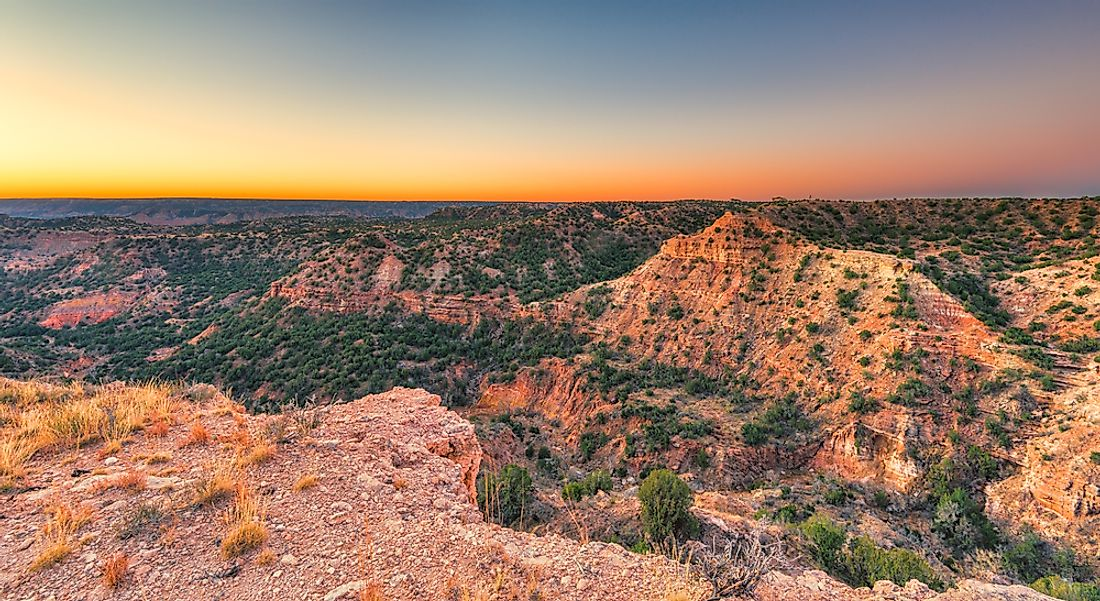 Palo Duro Canyon has been a state park since 1934.