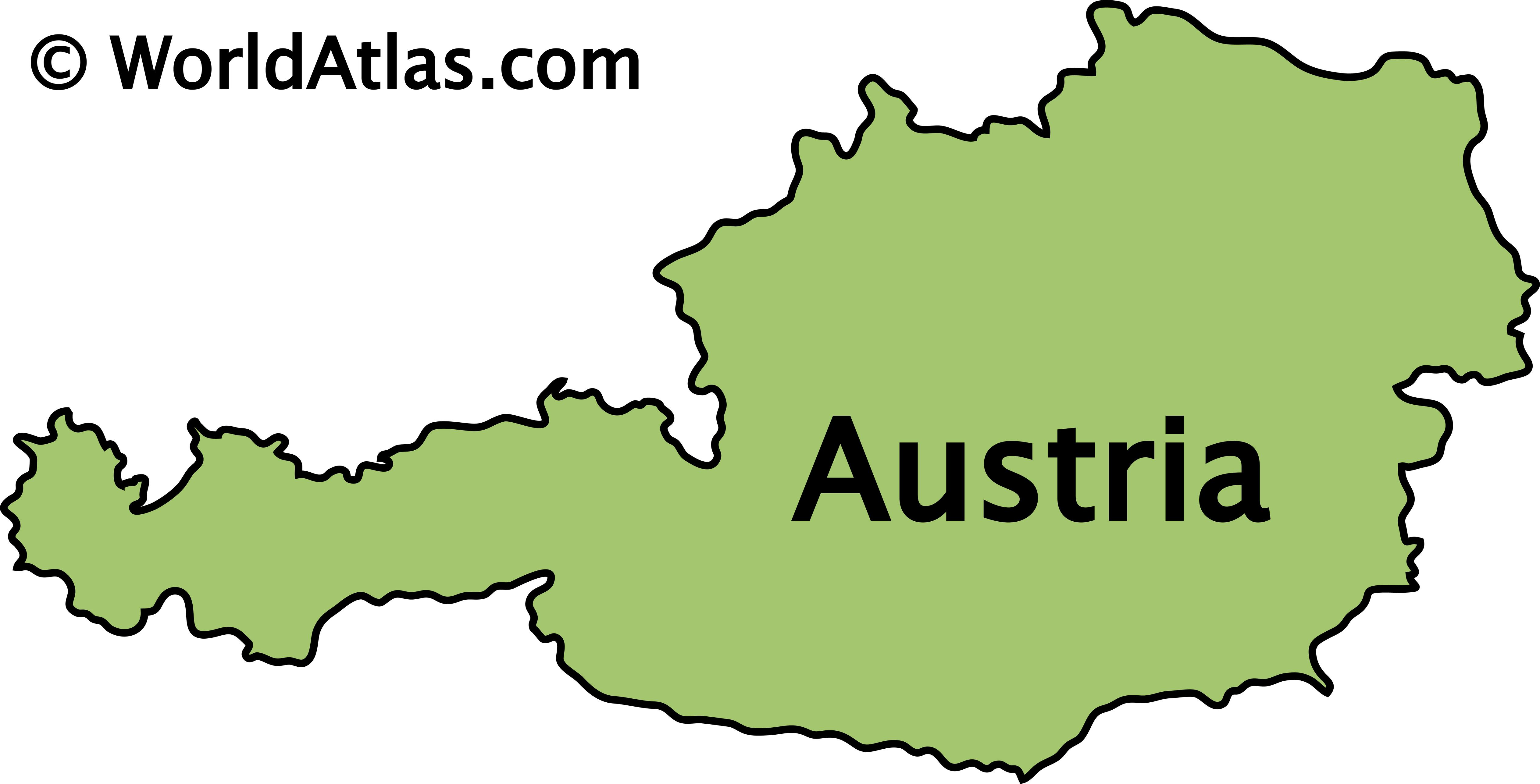 Picture of: Austria Maps Facts World Atlas