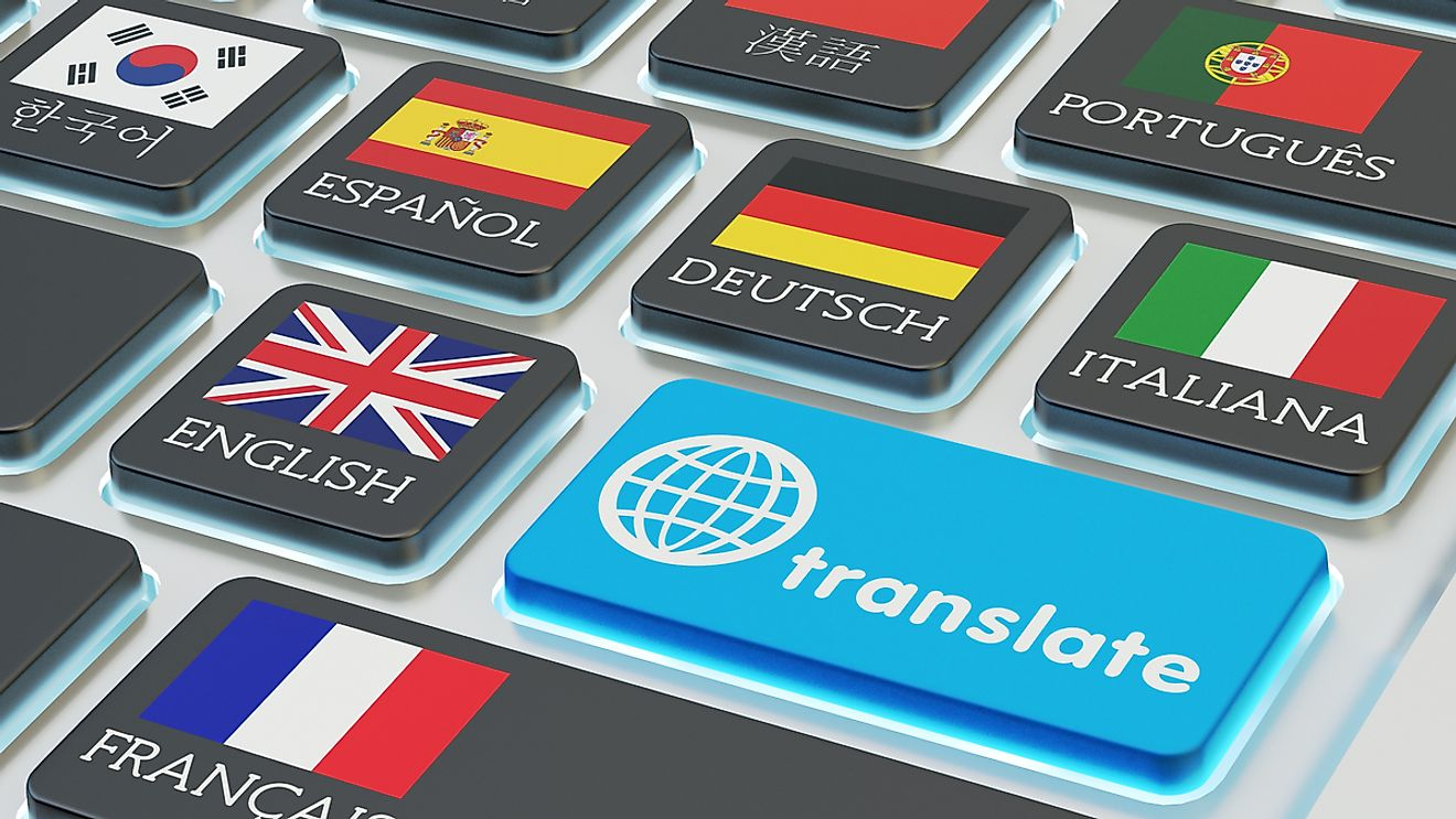 Technology has allowed us to break down language barriers and communicate with people around the world. Image credit: cybrain/Shutterstock