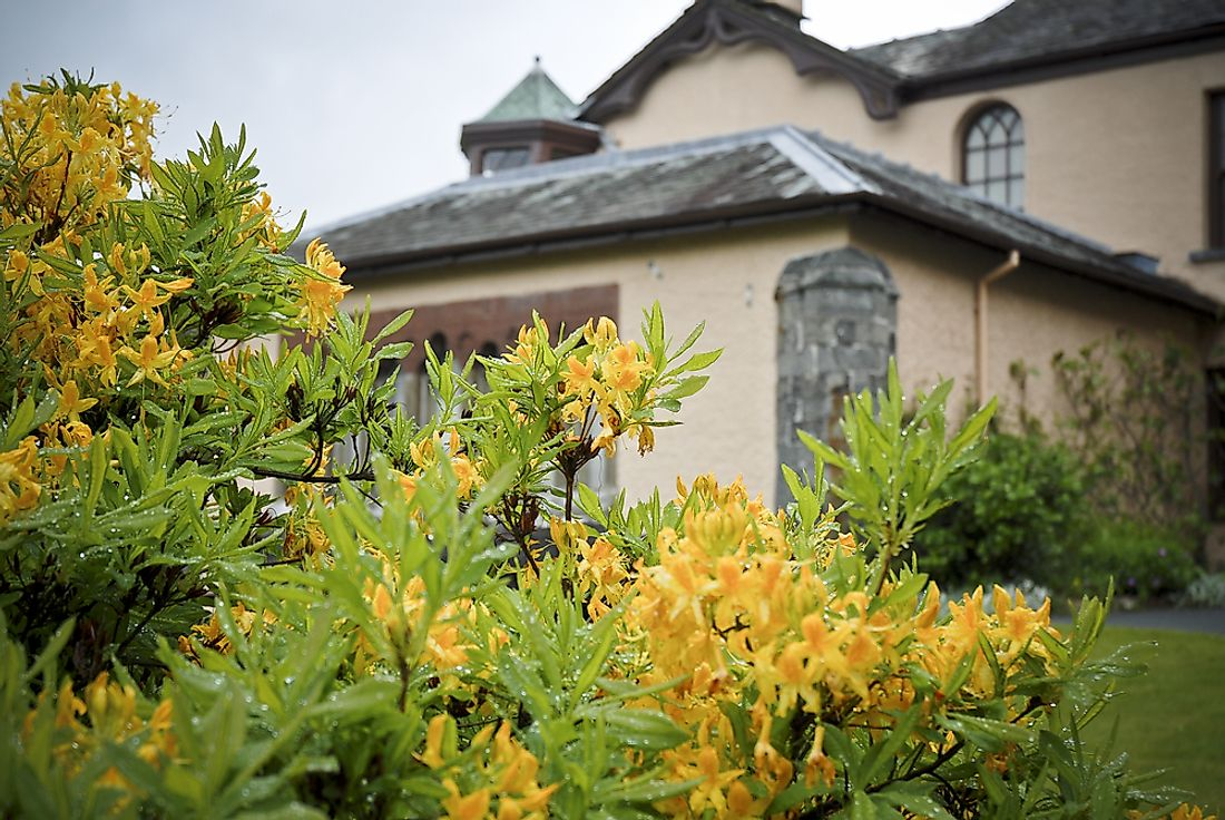 The home that belonged to John Ruskin now houses a museum in Cumbria, England.