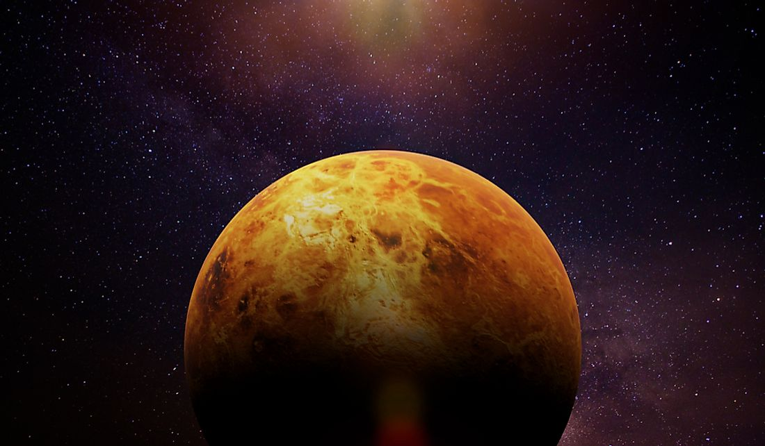 Venus is the second planet from the sun.