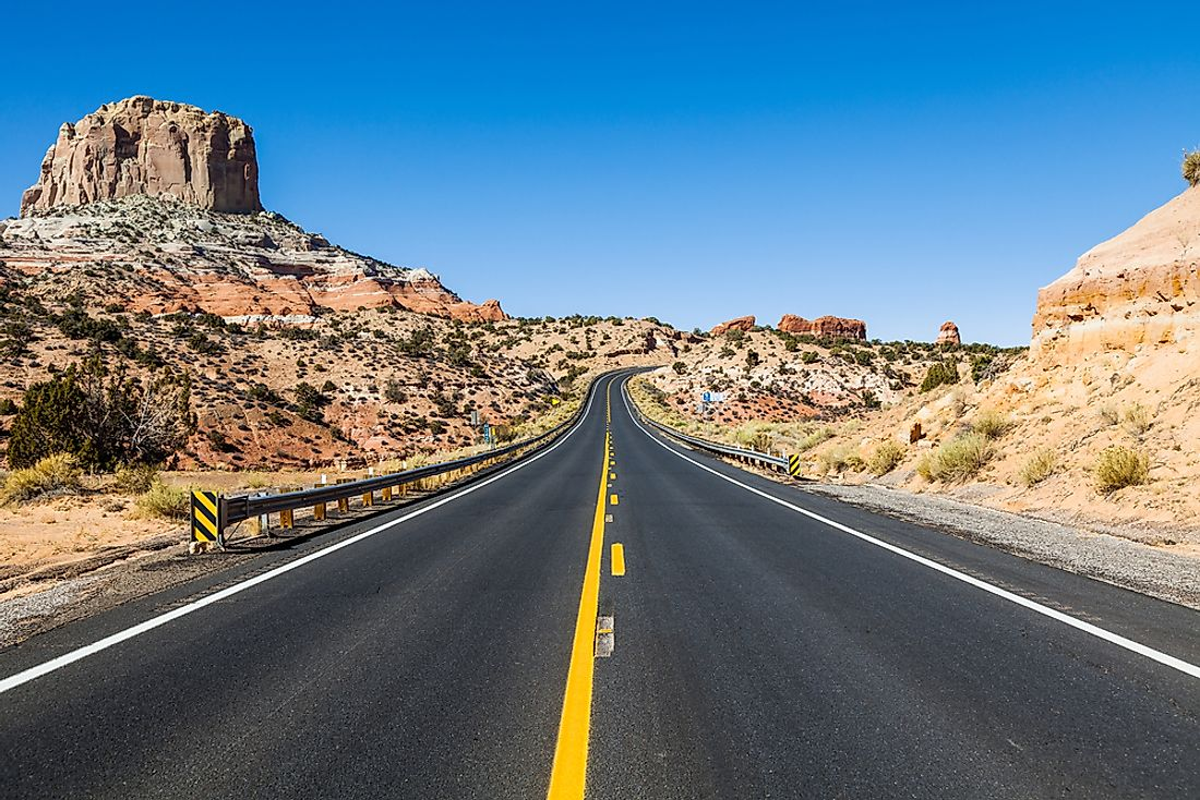 Road Trip Route Usa%0A The    Most Beautiful Drives To Take in America This Summer  WorldAtlas com