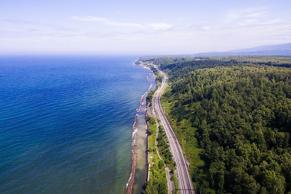 The Trans-Siberian railway, which passes through Russia, is the longest railway line in the world.