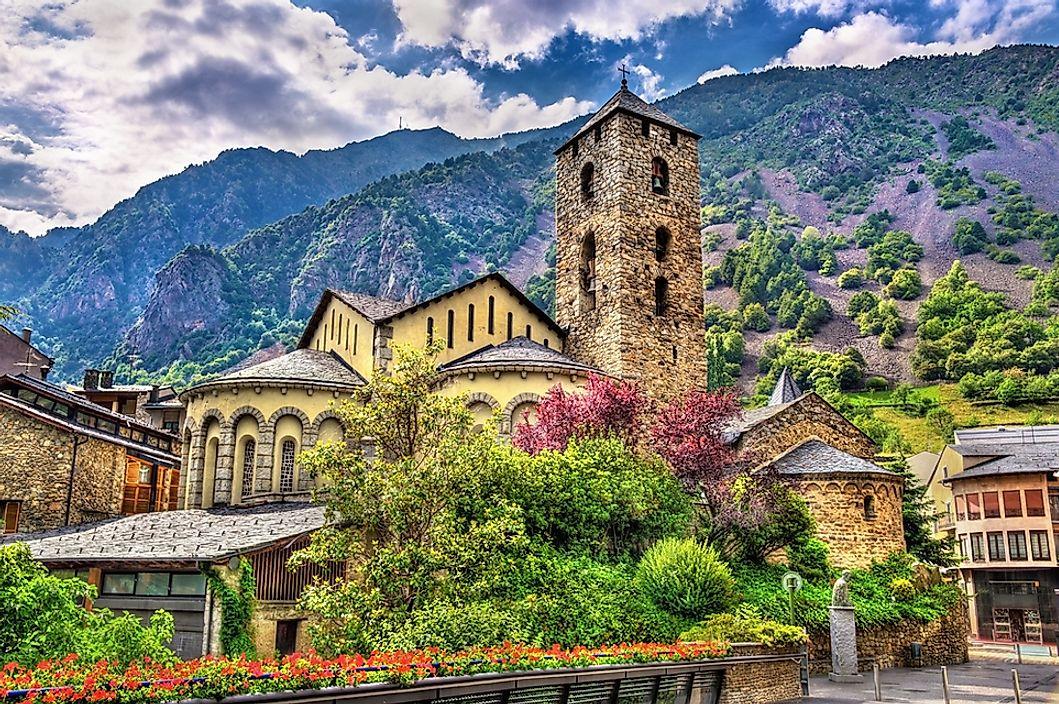 Andorra Map  Geography of Andorra  Map of Andorra  Worldatlascom