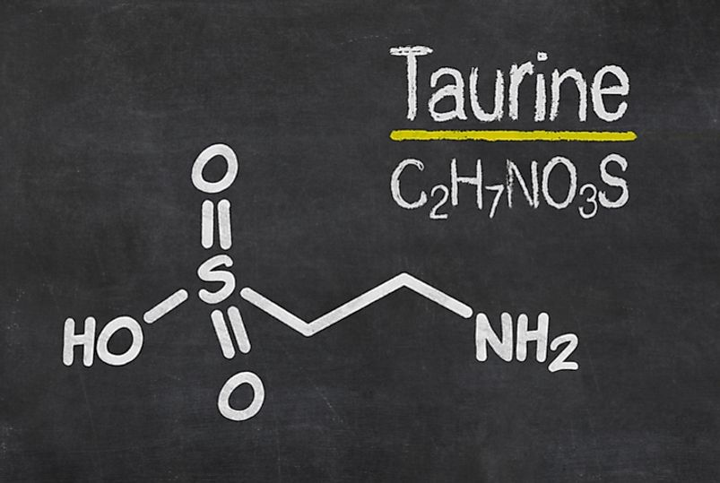 Taurine (2-aminoethanesulfonic acid) is an organic compound discovered in bull bile in 1827.