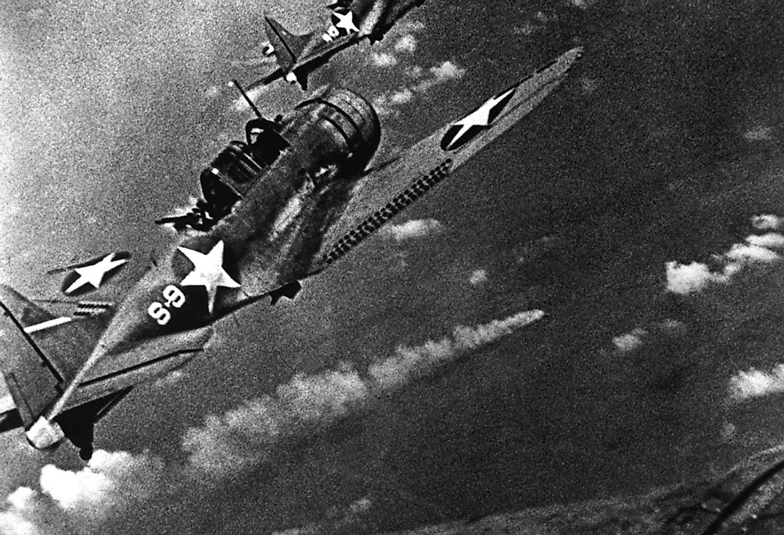 The battle began on June 3, 1941, when American naval planes discovered the Japanese ships.