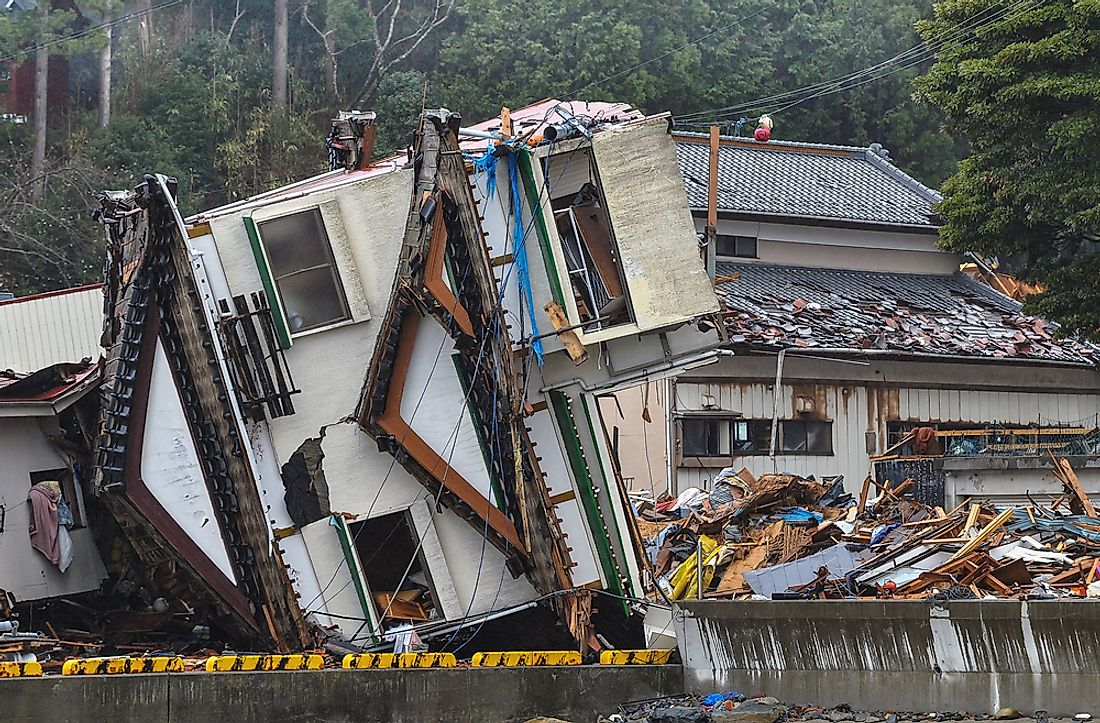 The Tohuku earthquake in tsunami in Japan is among the world's most expensive disasters to ever occur.