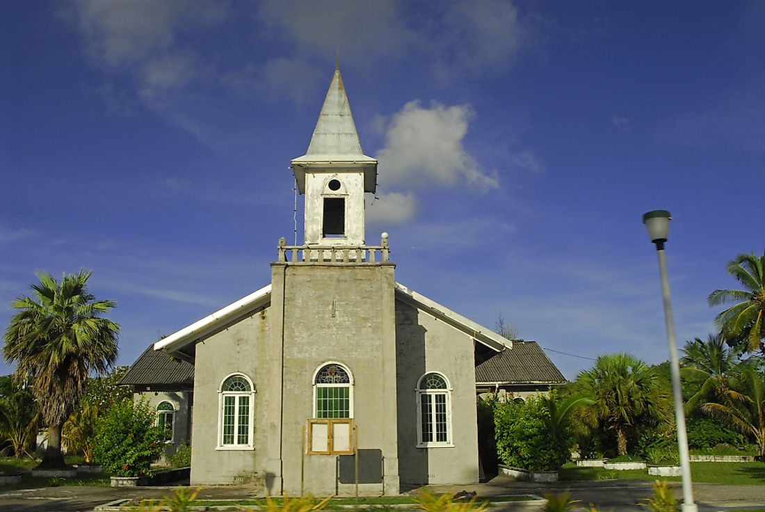Religious Beliefs In Nauru WorldAtlascom