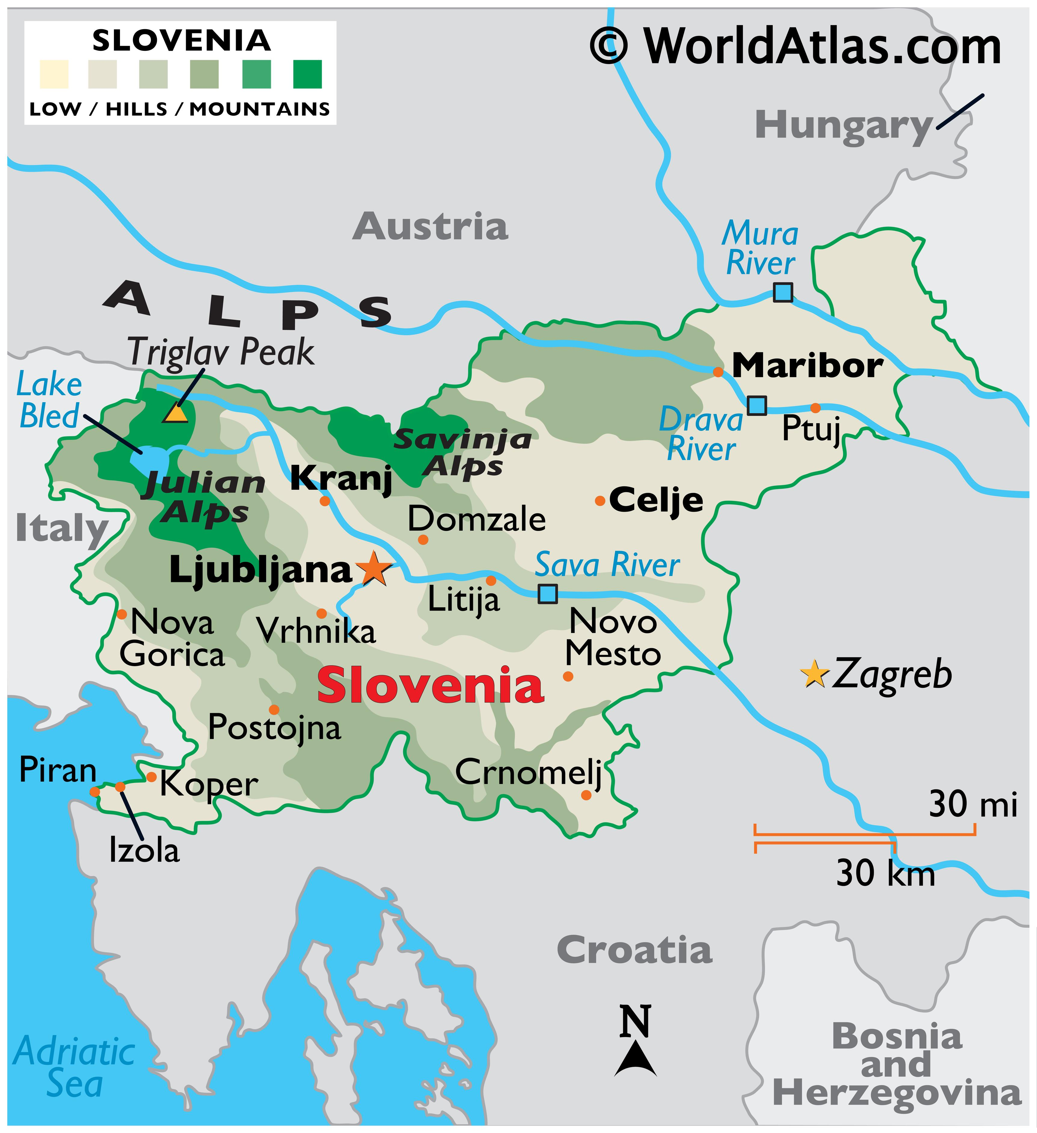 Picture of: Slovenia Maps Facts World Atlas