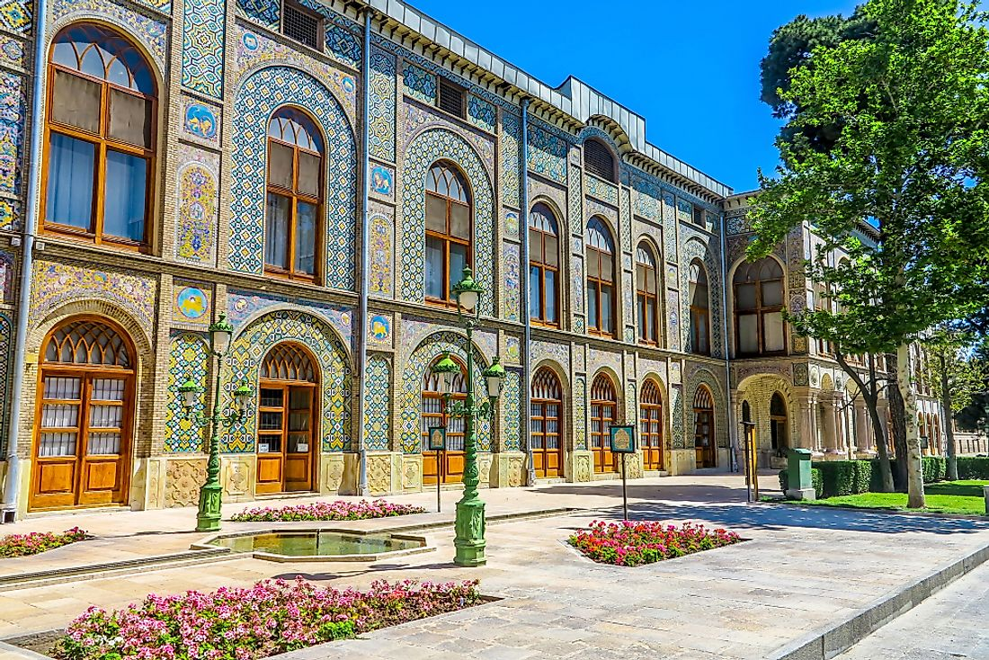 The Golestan Palace​ in Iran.