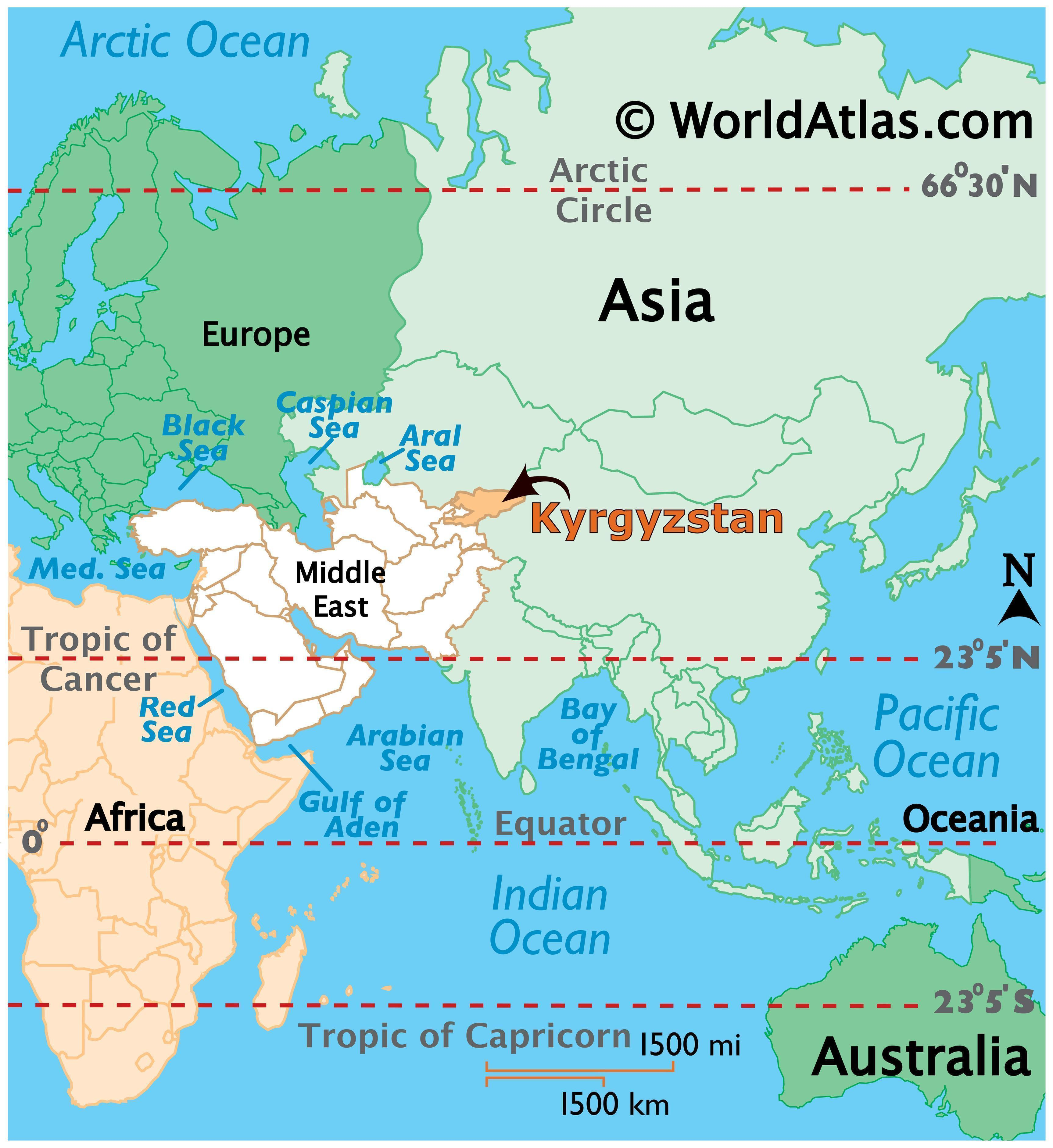 Where is Kyrgyzstan?