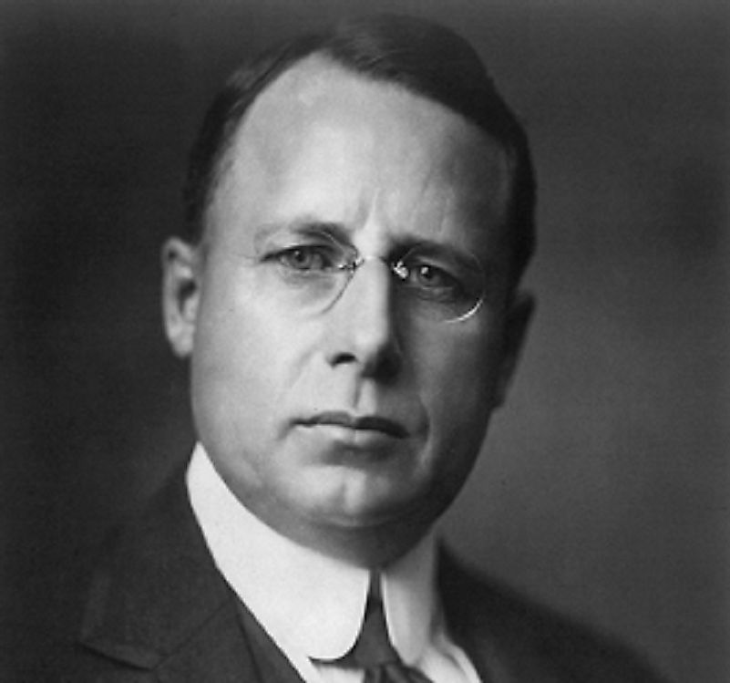 In 1920, James Cox (pictured) suffered the worst defeat in the popular vote in US Presidential history as the hands of Warren G. Harding.