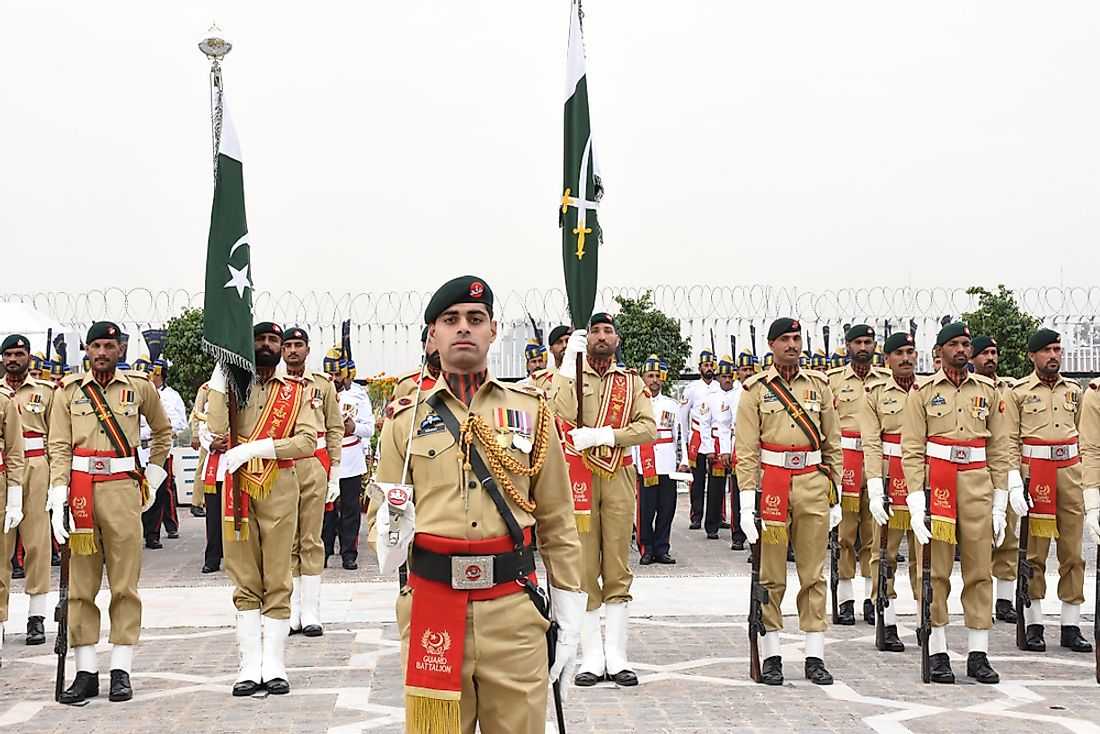 An official ceremony at the Presidential Palace in Islamabad, Pakistan. Editorial credit: Mirko Kuzmanovic / Shutterstock.com.