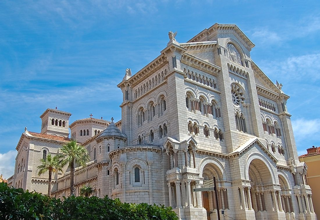 The archbishop of Monaco is located at the Saint Nicholas Cathedral.