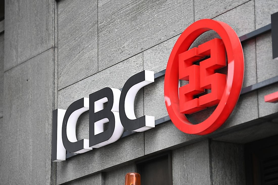 The Industrial and Commercial Bank of China is the largest bank in the world. Editorial credit: Cineberg / Shutterstock.com.