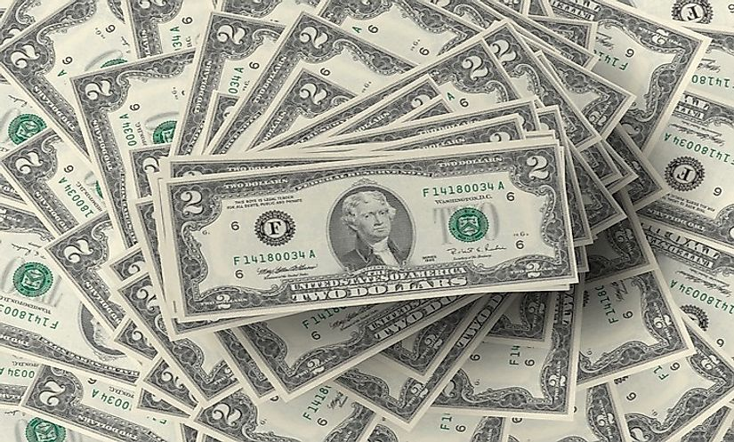 US Dollar is the primary currency held as foreign reserves, preferred because of its stability.