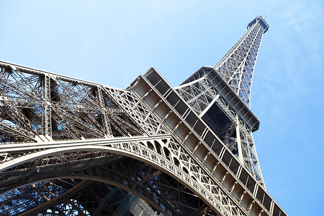 The Eiffel Tower, Paris. Editorial credit: David Franklin / Shutterstock.com.