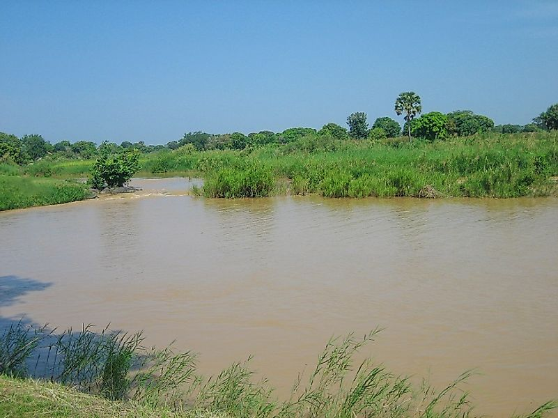 Longest Rivers In Nigeria WorldAtlascom - Longest river in the united states