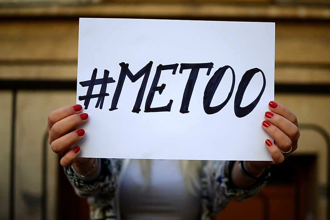 #MeToo has spread virally on social media beginning in October 2017.