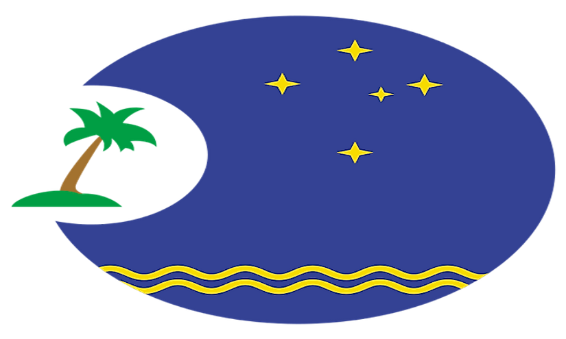 The logo of the Pacific Islands Forum.