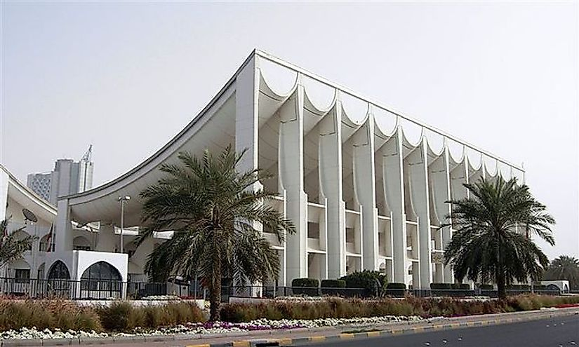 The National Assembly of Kuwait in Kuwait City