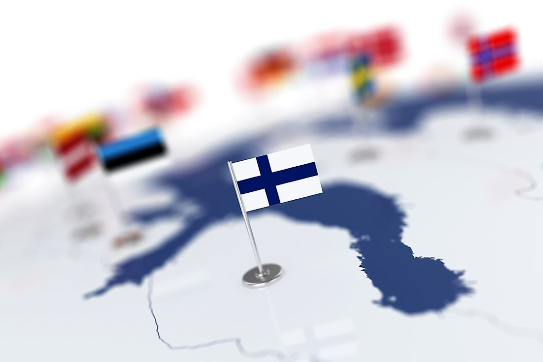 The Most Important Export Partners Of Finland - WorldAtlas com