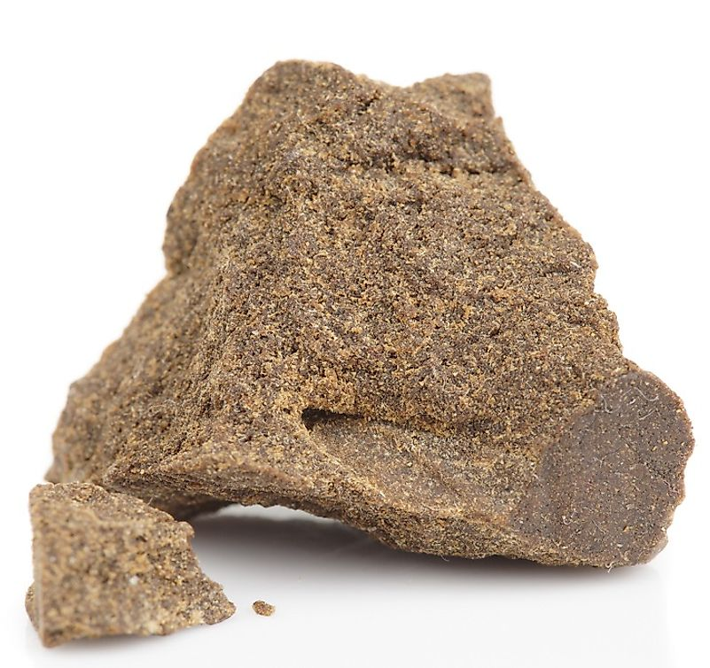 "Marijuana resin, or ""hashish"", is a more potent, concentrated form of cannabis than leaf marijuana."