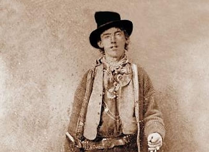 Billy the Kid in 1881.