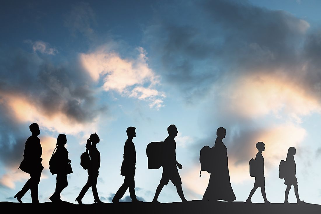 Humans have migrated since the beginning of existence.