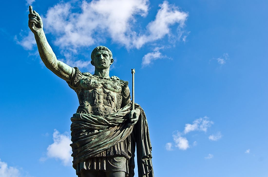 Julius Caesar has been depicted in many statues all over the world.