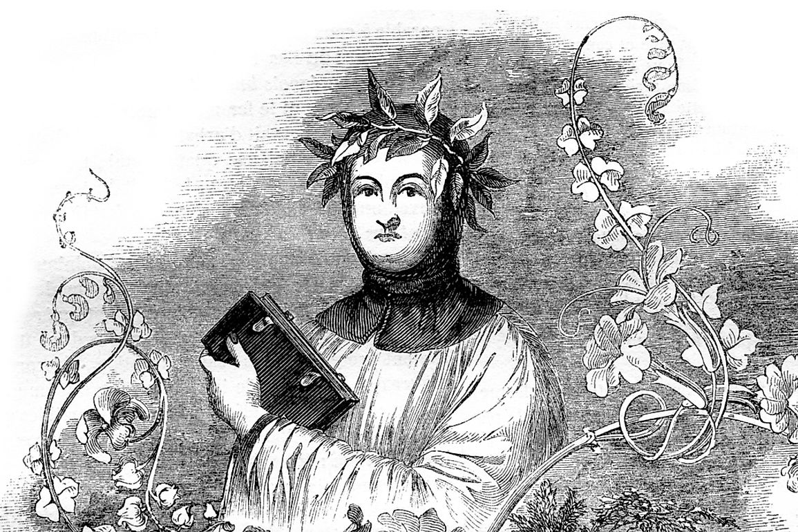 The sonnets of Petrarch were imitated and admired in Europe throughout the Renaissance period.
