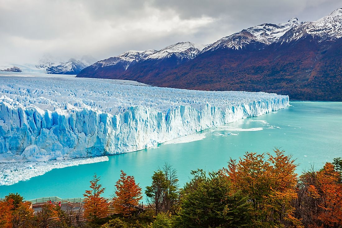 The Perito The Moreno Glacier in Argentina's Los Glaciares National Park.