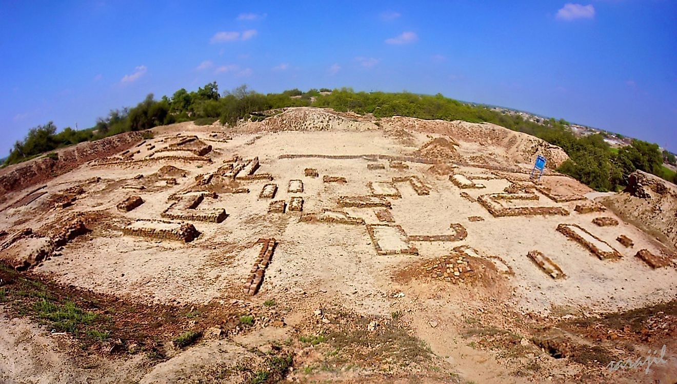 The Ancient Site Of Harappa Of The Indus Valley Civilization