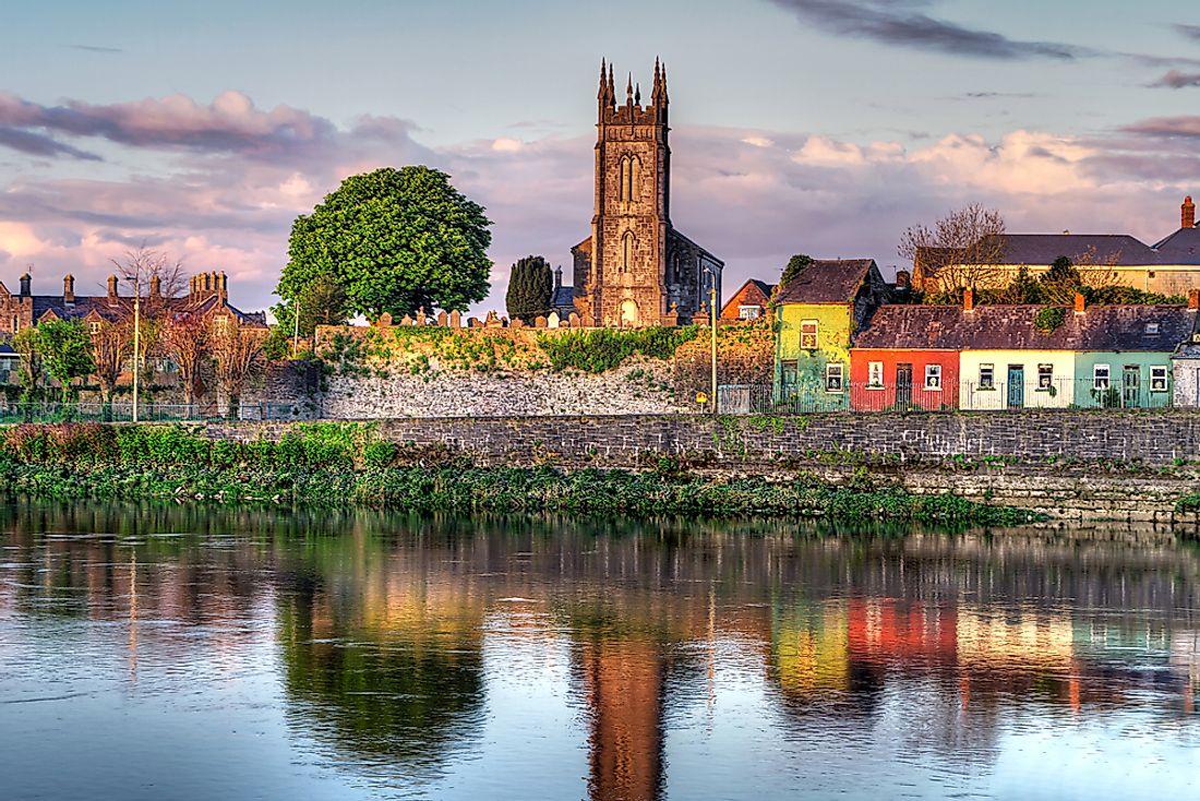 River Shannon, Ireland - WorldAtlas