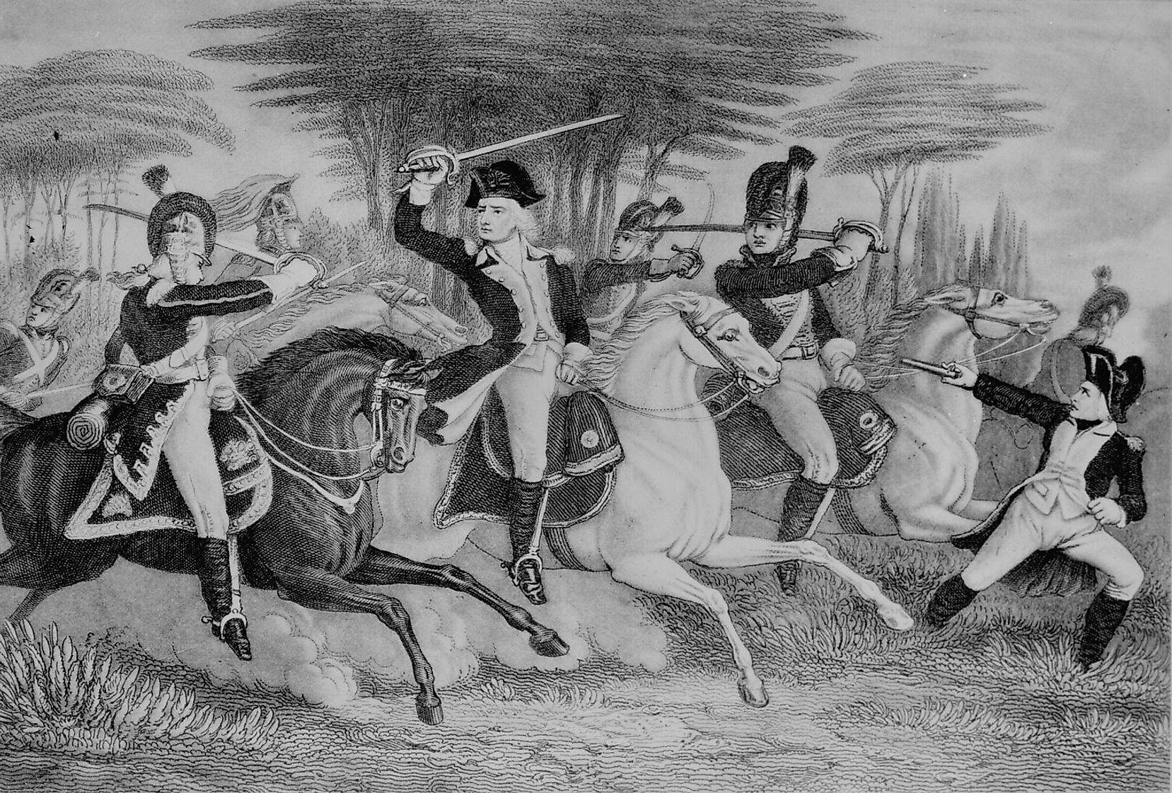 William Washington, the second cousin of George Washington, was one of the officers who helped win this battle in the Carolinas for the Continental Army.
