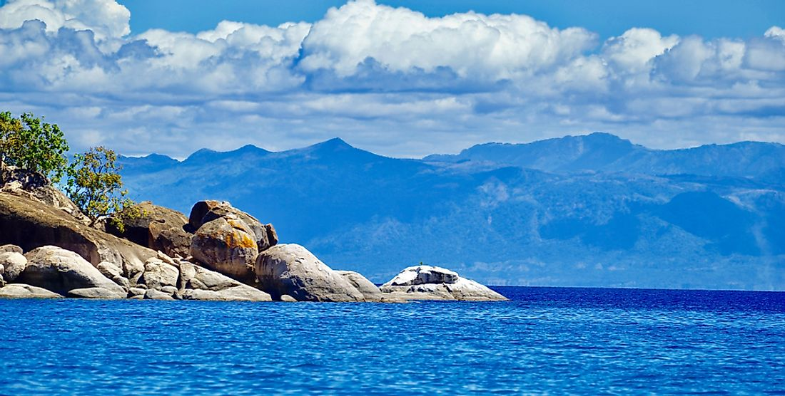 Lake Malawi in Malawi.