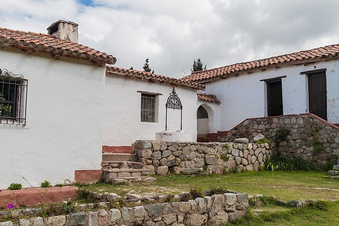 A traditional house in Tafi del Valle, Argentina.
